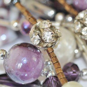Bijoux: bracelet, fleur de vie...